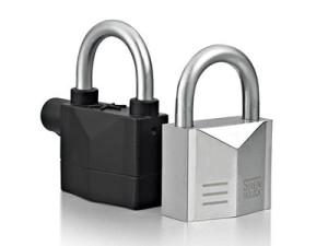 Pad Lock with Alarm